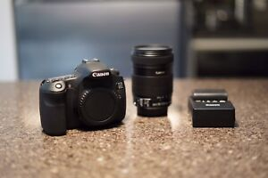 Canon 60D with 18-135
