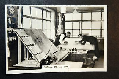 Air Traffic Control Tower   1930's Photo Card