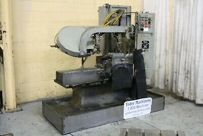 12 X 12 Wells 1270 Automatic Band Saw Yoder 67919