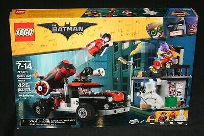 LEGO BATMAN MOVIE 70921  HARLEY QUINN CANNONBALL ATTACK (2018) NEW SEALED