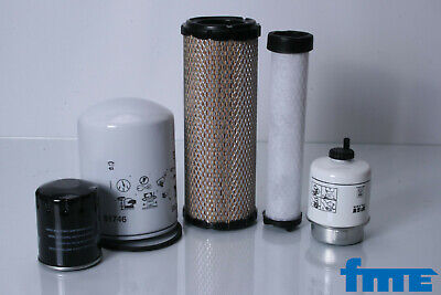 Filter Set For Caterpillar 302.5 Motor Perkins Filter