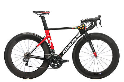 2018 Argon 18 Nitrogen Jelly Belly Team Road Bike Small Carbon Ultegra Di2 6870