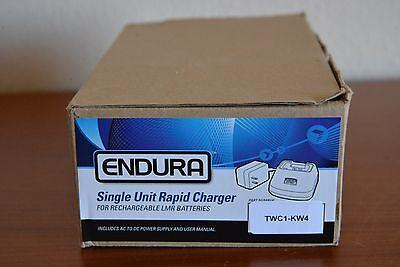 Kenwood Nexedge Single Unit Rapid Charger Endura Model Twc1-kw4