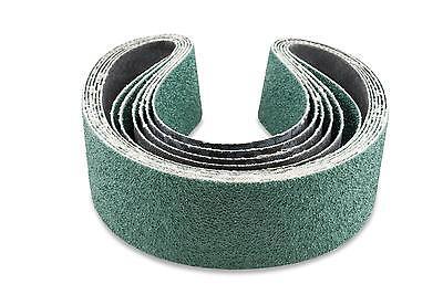 2 X 48 Inch 40 Grit Metal Grinding Zirconia Sanding Belts 6 Pack