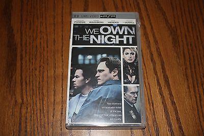 We Own The Night Joaquin Phoenix / Mark Wahlberg PSP UMD New