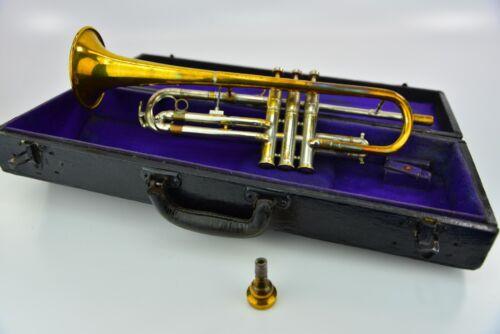 Unbranded Trumpet  W/ Case & Mouthpiece