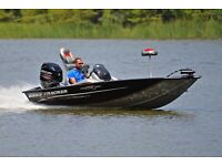 BASS TRACKER 175 .... 60 HP .....ONLY 118 HOURS