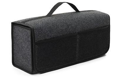 Kofferraum Organizer Cube (Kofferraumtasche Organizer Werkzeugtasche Autotasche Rand in Schwarz für NISSAN)