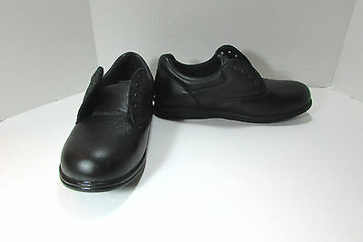 Women's Canfield Black Leather Walking Shoes Size US 8 W