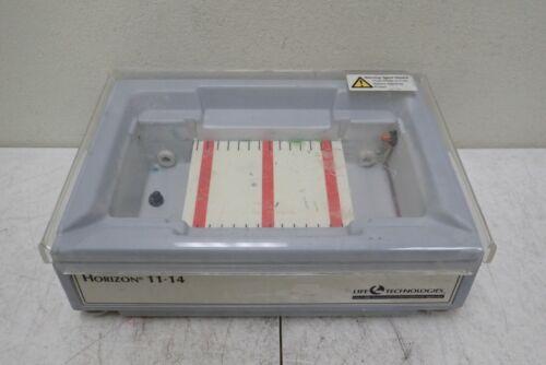 Life Technologies GibcoBRL Horizon 11-14 Horizontal Gel Electrophoresis System