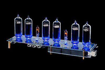 Nixie Tubes Clock Arduino Shield NCS314 IN-14 WITH TUBES Opt: Remote GPS