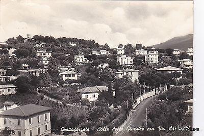 # GROTTAFERRATA: COLLE DELLE GINESTRE CON VIA SANTOVETTI  1960