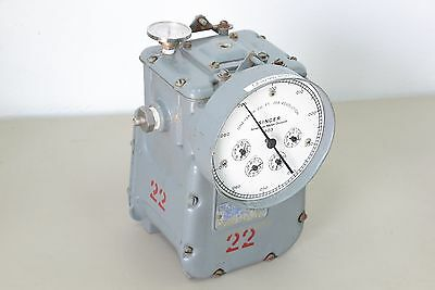 Singer American Meter Division Dry Test Gas Flow Meter Dtm-115 Elster H11-h21