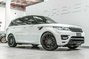 2013 Land Rover Range Rover LW Sport 3.0 SDV6 Autobiography Fuji White 8 Speed Automatic Wagon