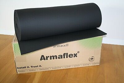 19 Mm 6m2 Armaflex Armacell Closed Cell Foam Insulation Roll Car Camper Sound
