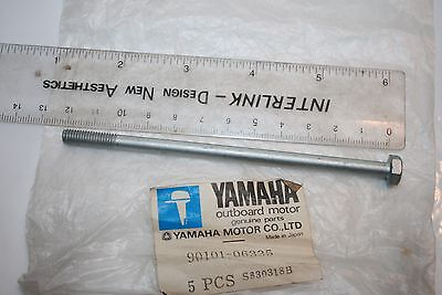 <em>YAMAHA</em> NOS MOTORCYCLE CRANKCASE BOLT TX500 XS500 90109 06335 6 X 120MM