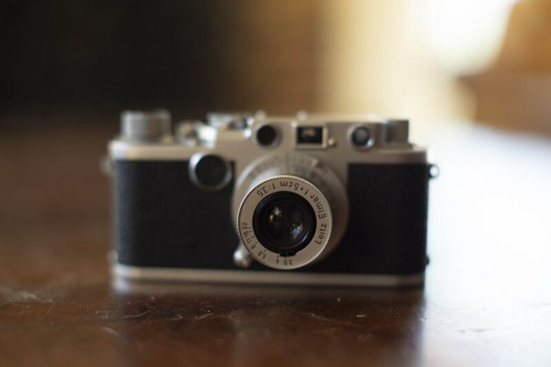 Leica iid With 5cm F3.5 Collapsible Elmar Lens