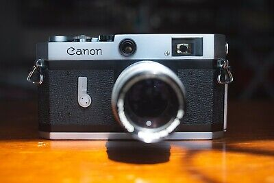 Canon P with 100mm f3.5 lens