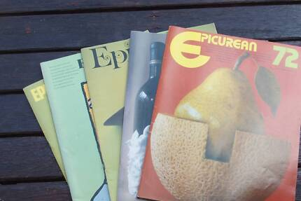 Magazine back issues gumtree australia free local classifieds epicurean magazine back issues fandeluxe Image collections