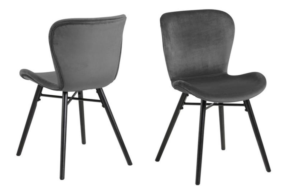 Polsterstühle Stühle Stuhl Esszimmerstühle Samt 3 Farben in Hamburg
