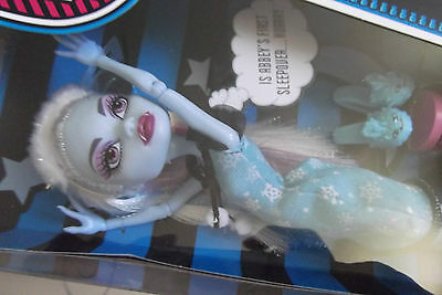 Monster High Daughter of Yeti Dead Tired Abbey Bominable Doll