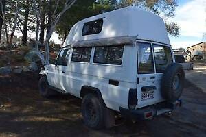 1996 Toyota LandCruiser Troopcarrier Hi Top Jindabyne Snowy River Area Preview