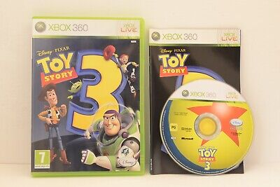 Xbox 360 Game - DISNEY PIXAR TOY STORY 3 - Complete with Manual *CHEAP*