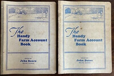 Vintage The Handy Farm Account Book By John Deere 1936 & 1937