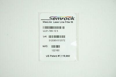 Semrock Maxline Ll01-758-12.5 Laser Line Filter 785 Perkin Elmer L1323304