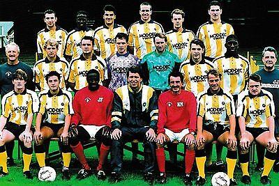 TORQUAY UNITED FOOTBALL TEAM PHOTO 1992-93 SEASON