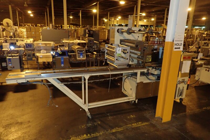 Used- Doboy Model Super Mustang Horizontal Flow Wrapper- SN 83-20746