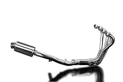 "Honda CB1100A Full 4-1 Header SS70 9"" Stainless Steel Oval Muffler Exhaust 13 14"