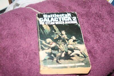 Battlestar Galactica-Cylon Death Machine Paperback Frazetta Cover