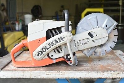 Dolmar Pc-6212 Concretecut-off Saw Great Running Condition With Nice Blade 62cc