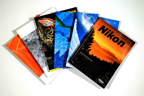 Six Nikon Full-Line Product Guides Nos.5,6,7,8,9,10 ca. 1999-2004 Excellent +