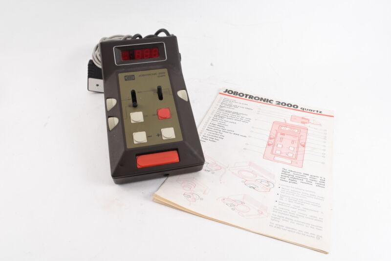 Jobo Jobotronic 2000 Darkroom Enlarger Timer Analyzing Computer With Manual V18