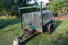 6x4 Nathan Box Trailer Camping Ladder Boat Racks Mount Mellum Caloundra Area Preview