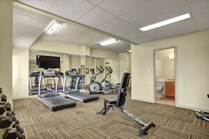 Free April rent!  All Utilities Incl! Top Floor One Bedr Avail