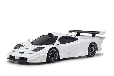 """Kyosho Mini-Z MR-03RS RWD """"Long Tail"""" McLaren F1 GTR RC Car - White - 32332W-B"""
