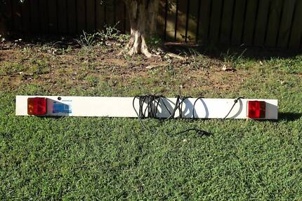 Boat Trailer light Board, 1.5 metres in good condition