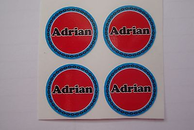 """12 Adrian CROWN GREEN STICKERS  1""""   LAWN BOWLS FLATGREEN  AND INDOOR BOWLS"""