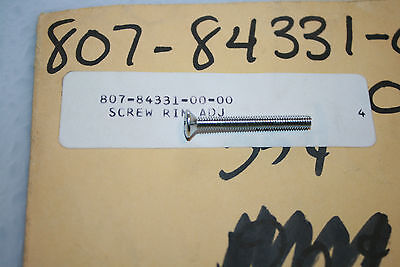 nos Yamaha snowmobile headlight screw ew433 ew643 gp643 sl396 sw396 sw433