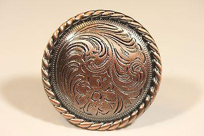 FANCY WESTERN KNOB ANTIQUE COPPER CABINET HARDWARE DRAWER PULLS Antique Copper Knob