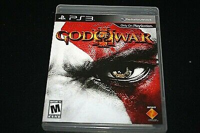 PS3 God of War Video Game w/ Manual Case Disc Adult Owned  -V= (Adult Video Games Ps3)