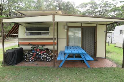 Onsite Holiday Caravan with Annex and Ensuite - Lake Tabourie Lake Tabourie Shoalhaven Area Preview