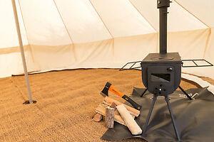 Bushcraft  Woodsman Woodburner Bell Tent Stove Camping Glamping Outdoor Cooking