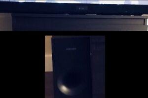Samsung soundbar and sub