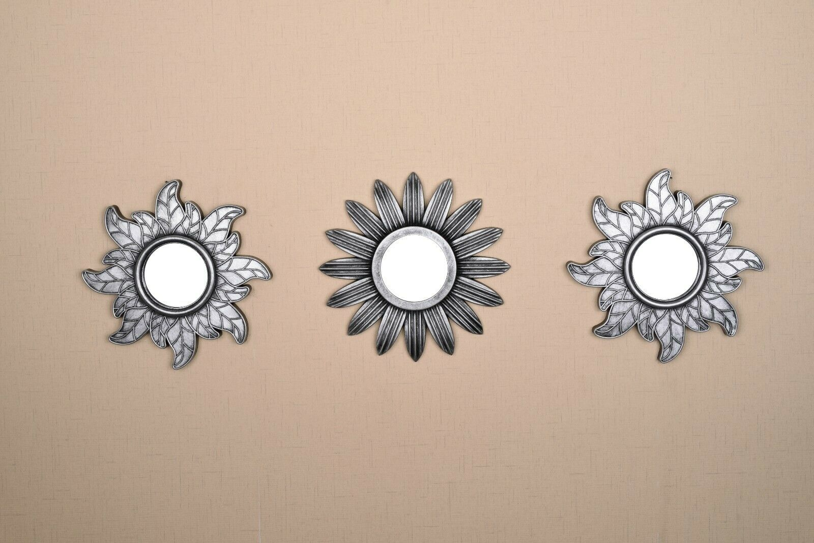 All American Collection New 3 Piece Decorative Mirror Set, W