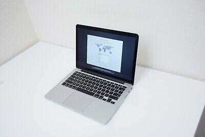 "2013 13"" Apple MacBook Pro RETINA 2.4 GHz i5 256GB SSD 8GB RAM TB PORTS NON-FUNC"