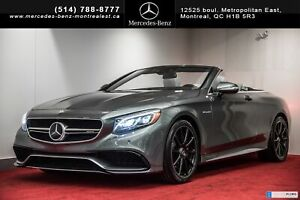 2017 Mercedes Benz S-Class S63 AMG 4MATIC CABRIOLET